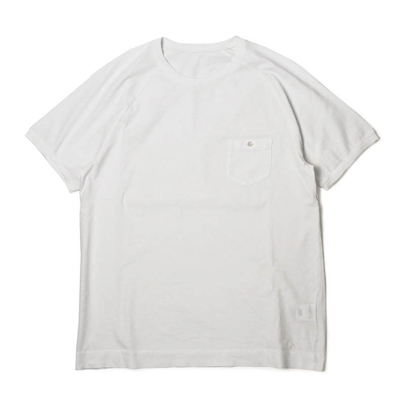 チルコロ 1901 / CIRCOLO 1901 / Tシャツ / コットン ラグラン ポケット / ACU 228134【ホワイト】【SALE30】