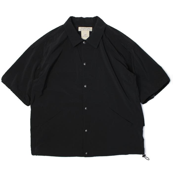 レミレリーフ / REMI RELIEF / ドッキング ショートスリーブ マウント シャツ【ブラック】【SALE 30】