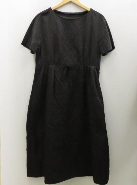 ソフィードール シルクワンピース 黒 38サイズ表記 〇YR-06512-2〇