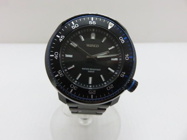 【中古品】 セイコー 腕時計 ワイアード AGAJ406 VH-31KBC0 クォーツ 〇YR-06166〇