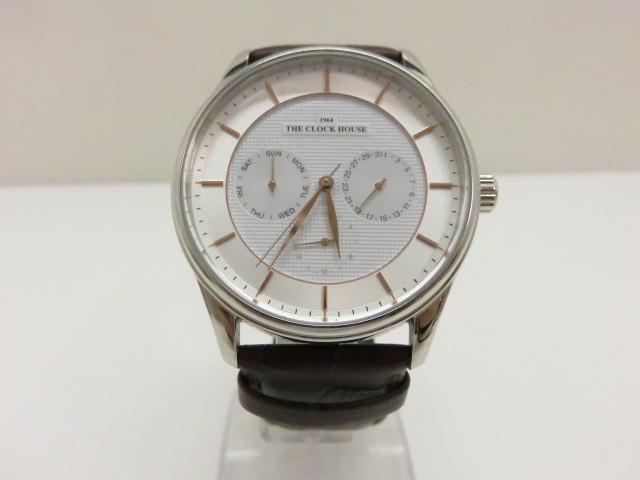 【中古品】 ザ・クロックハウス ソーラー腕時計 MBFMY1612 〇YR-06215〇