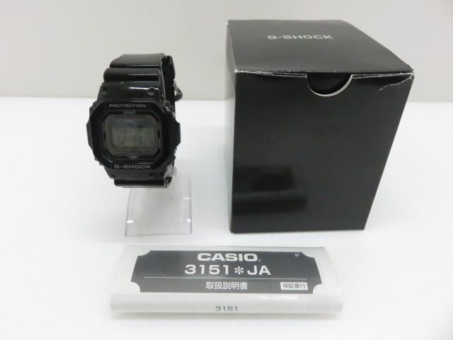 中古 カシオ Gショック 希少 G-SHOCK ブラック 在庫一掃売り切りセール 〇YR-06054〇 GLX-5600