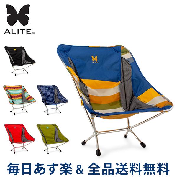 【2点300円OFFクーポン 4/15まで】 [全品送料無料] エーライト Alite Mantis Chair マンティスチェア 折りたたみチェア 4本脚 01-03D 椅子 アウトドア キャンプ 持ち運び 軽量 丈夫