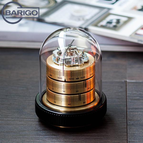 [全品送料無料]Barigo バリゴ Country Home カントリーホーム Baro-Thermo-Hygrometer, Double Diaphragm Movement 温湿気圧計 (ダブルダイヤフラムムーブメント) GoldBlack ゴールドブラック 3025 インドア ヘルスケアインテリア 送料無料