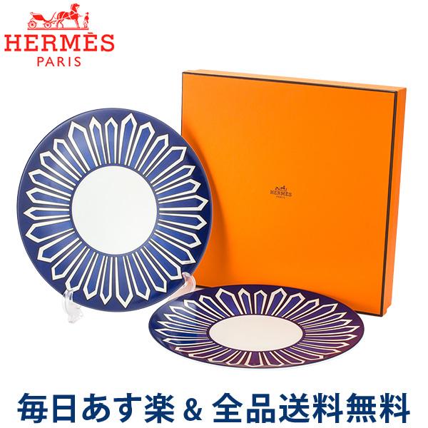 [全品送料無料] エルメス Hermes ブルーダイユール ディナープレート 26.5cm HE030001P BLEUS D AILLEURS Dinner Plate 高級 テーブルウェア プレート 皿 食器