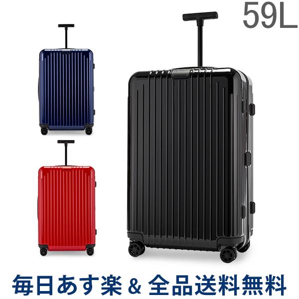 【2点300円OFFクーポン 4/15まで】 [全品送料無料] リモワ RIMOWA 【Newモデル】 エッセンシャル ライト 823636 チェックイン M 59L 4輪 スーツケース Essential Lite 旧 サルサエアー