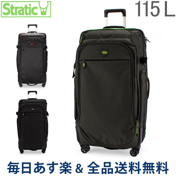 【2点300円OFFクーポン 4/15まで】 [全品送料無料] ストラティック Stratic スーツケース 115L Lサイズ リラックス 2 4輪 3-9848-75 Relax 2 軽量 大容量 キャリーバッグ 旅行 Mover L 4R TSA