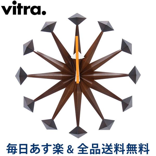 [全品送料無料] Vitra ヴィトラ Wall Clocks ウォール クロック 壁掛け 時計 Polygon Clock Walnut ウォールナット 201 618 01