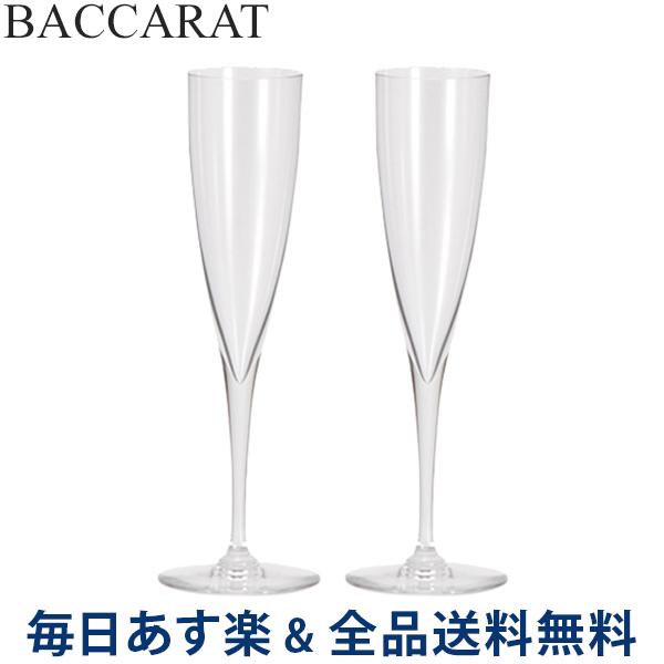 2点以上200円OFF [全品送料無料] Baccarat (バカラ) ドンペリニヨン フルート シャンパングラス 2個セット 1845244 DOM PERIGNON FLUTE CHAMPAGNE X2 クリア