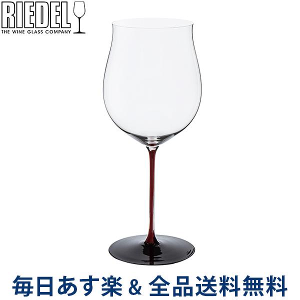 【2点300円OFFクーポン 4/15まで】 [全品送料無料] リーデル Riedel ワイングラス ブラック シリーズ レッド ブルゴーニュ・グラン・クリュ ハンドメイド 4100/16R BLACK SERIES BURGUNDY GRAND CRU ワイン グラス