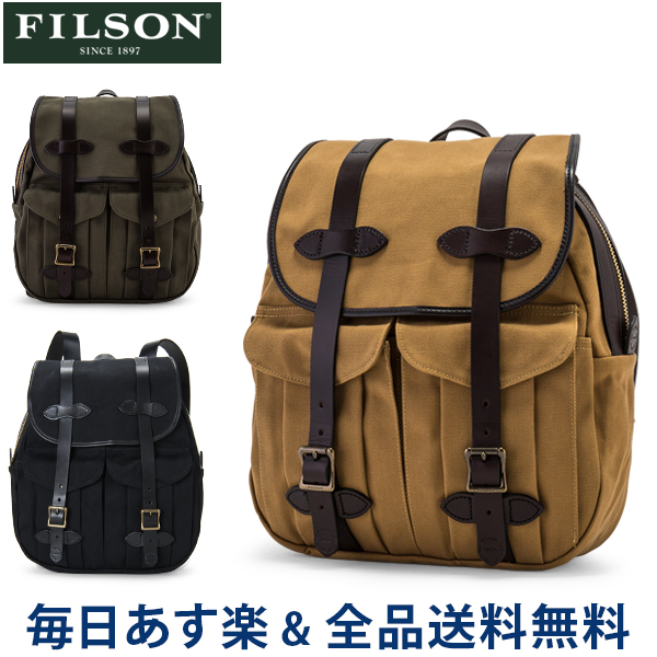 【GWもあす楽】[全品送料無料] FILSON フィルソン Rucksack リュックサック 70262 あす楽