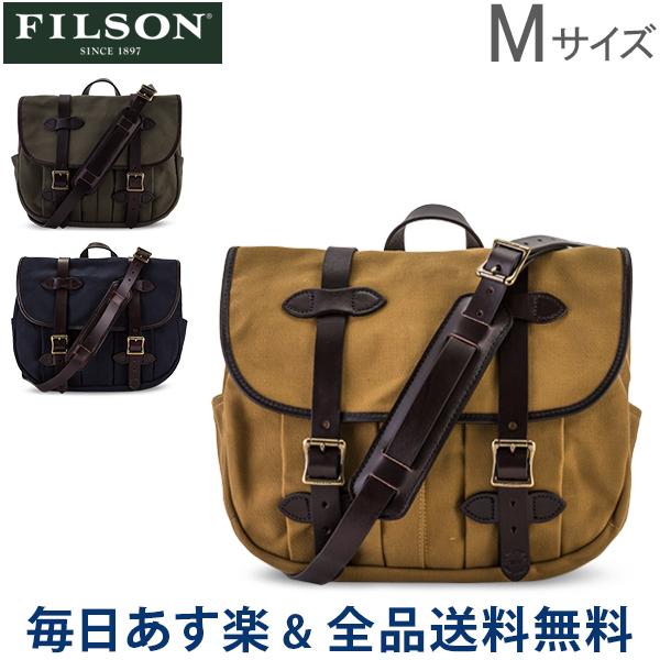 【お盆もあす楽】 [全品送料無料] フィルソン Filson ショルダーバッグ ミディアム フィールドバッグ Medium Field Bag Mサイズ 70232 メンズ レディース あす楽
