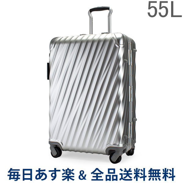 【あす楽】[全品送料無料] トゥミ TUMI スーツケース 55L 4輪 19 Degree Aluminum ショート・トリップ・パッキングケース 036864SLV2 シルバー キャリーケース キャリーバッグ