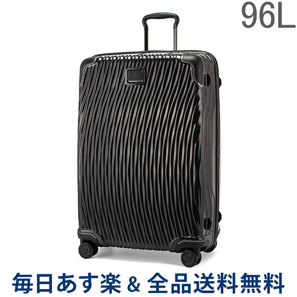 【お盆もあす楽】 [全品送料無料] トゥミ TUMI スーツケース 96L ラティチュード エクステンデッドトリップ 0287669D/98562-1041 ブラック LATITUDE Extended Trip 4輪