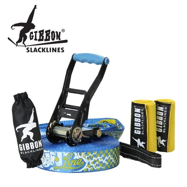 [全品送料無料]Gibbon ギボン FUN LINE X13 TREE PRO SET ファンライン×13 ツリープロセット Blue ブルー 13881 スラックライン