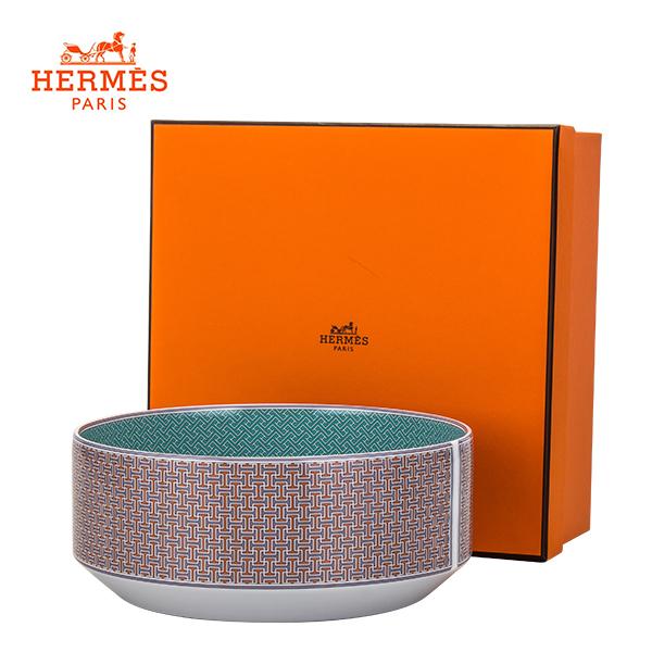 [全品送料無料]エルメス Hermes タイ・セット サラダボウル small ボウル 小 40036 Terre D'H TIE SET Salad Bowl small Terre D'H 食器 新生活