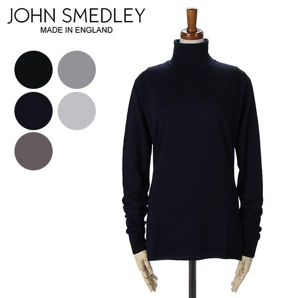 長袖ニット ジョンスメドレー JOHN SMEDLEY タートルネック 全8色 TRINITY