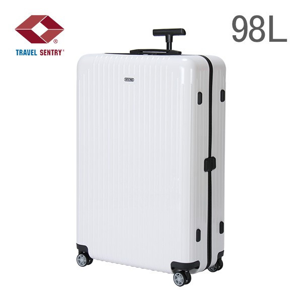 RIMOWA rimowa ultra-light 845.77 84577 SALSA AIR CARRARA WHITE multi wheel Carrara white (suitcase) (820.77.45.4)