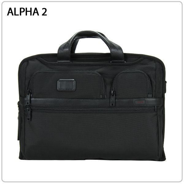 [全品送料無料]TUMI トゥミ 26114D2 ALPHA2 アルファ2 コンパクト・ラージ・スクリーン・コンピューター・ブリーフ black ブラック ブリーフケース