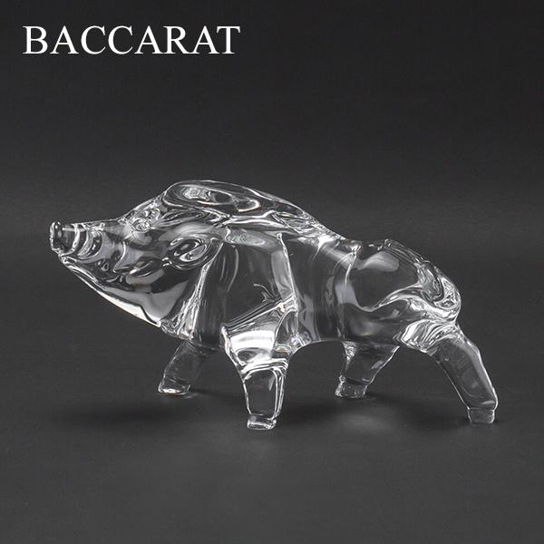 [全品] バカラ Baccarat 置物 オーナメント 千支 オブジェ 亥 (猪) クリア ZODIAQUE BOAR 2019 (2812399) CLEAR クリスタル ガラス インテリア デコレーション 新生活