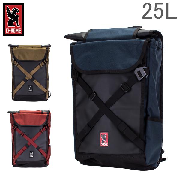 [全品送料無料] クローム Chrome バックパック 25L ブラーボ 2.0 BG-190 Backpacks Bravo 2.0 リュック ロールトップ メンズ