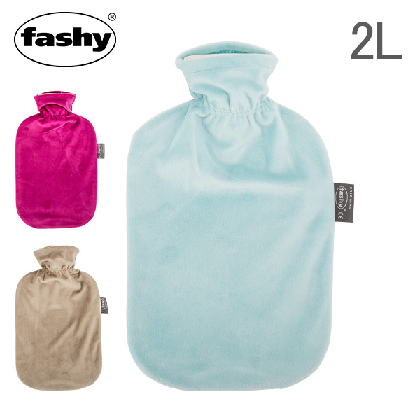 [全品送料無料] ファシー Fashy 湯たんぽ カバー 2L ベロア デラックスカバー Cuddly Toys Hot Water Bottle ゆたんぽ あったか
