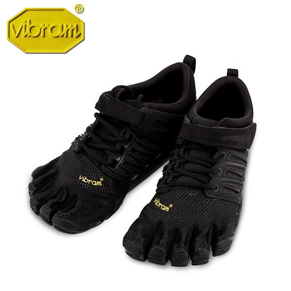 [全品送料無料] ビブラム Vibram ファイブフィンガーズ メンズ V-Train 17M6601 Black Out ブラックアウト Training Mens 5本指 シューズ ベアフット靴 トレーニング