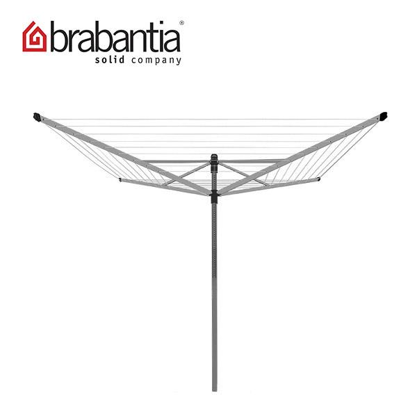 [全品送料無料]Brabantia ブラバンシア 洗濯物干し Lift-O-Matic 50 metres ロータリードライヤー Silver シルバー 310942