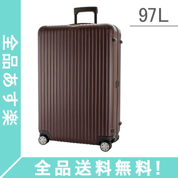 [全品送料無料]RIMOWA リモワ スーツケース サルサ マルチウィール 97L キャリーバッグ キャリーケース 旅行 カルモナレッド 810.77.14.4 SALSA MultiWheel