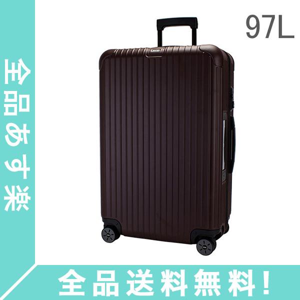 【5%OFFクーポン】[全品送料無料] RIMOWA リモワ スーツケース サルサ 811.77.14.5 マルチウィール 97L キャリーバッグ キャリーケース 旅行 カルモナレッド SALSA MultiWheel電子タグ 【E-Tag】