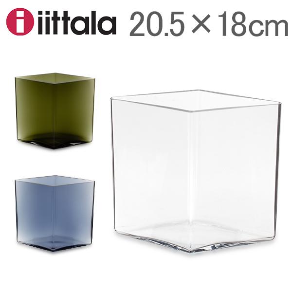 [全品送料無料] イッタラ Iittala ルーツ ベース Ruutu Vase 花瓶 20.5×18cm インテリア ガラス 北欧 フィンランド シンプル おしゃれ 雑貨 新生活