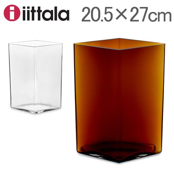 [全品送料無料] イッタラ Iittala ルーツ ベース Ruutu Vase 花瓶 20.5×27cm 101559 インテリア ガラス 北欧 フィンランド シンプル おしゃれ 新生活