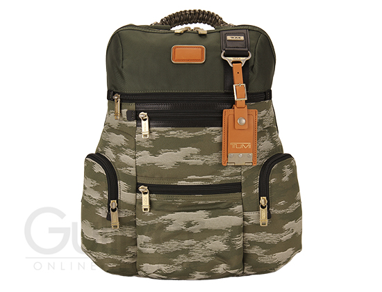 TUMI tumi 22681 ALPHA BRAVO阿尔法称赞Knox Backpack敲门背包Spruce/Camo口炎性腹泻绿色