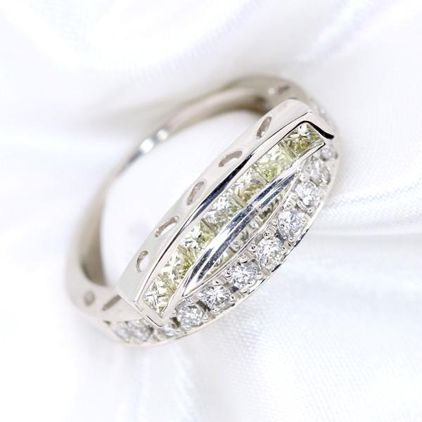【10%OFFクーポン対象&P2倍】シンプルさの中に秘めたデザイン力 ダイヤモンド 1.0カラット プラチナ PT900 リング/指輪 憧れの1カラット /白・透明(ホワイト)/【中古】/届5/送料無料 ギフト/1点もの