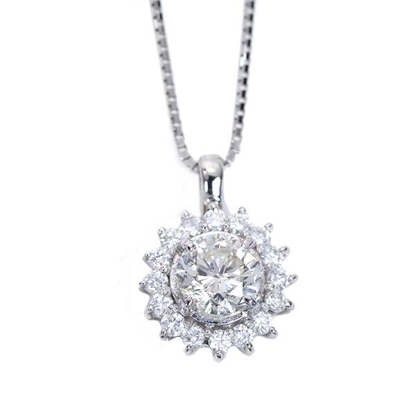 【クーポンで最大30%OFF!】憧れの1カラット! ダイヤモンド 1.020カラット ネックレス プラチナ PT900/PT850 太陽のような華やかさ /白・透明(ホワイト)/アウトレット・新品/届10/送料無料 ギフト/1点もの