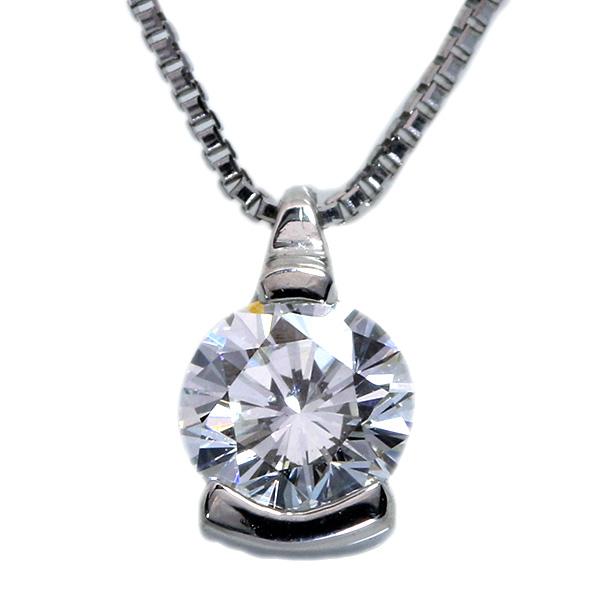 【10%OFFクーポン対象&P2倍】ダイヤモンド 0.303カラット ネックレス プラチナ PT900/PT850 煌く一粒 /白・透明(ホワイト)/アウトレット・新品/届10/ギフト/1点もの