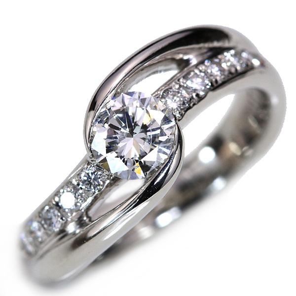 【10%OFFクーポン対象&P2倍】G I1 VG ダイヤモンド 0.566カラット リング/指輪 プラチナ PT900 エンゲージにふさわしい ソーティング付 /白・透明(ホワイト)/アウトレット・新品/届10/ギフト/1点もの
