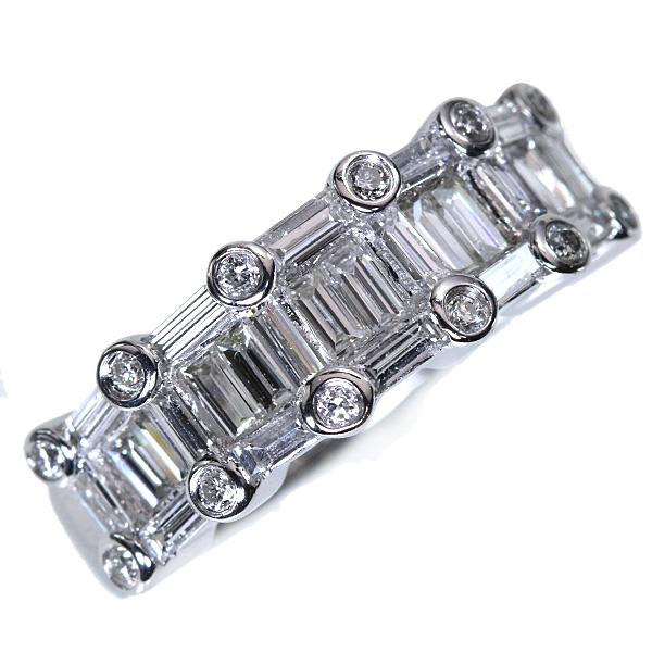 【クーポンで15%OFF&P2倍】価値高きVS級の角 ダイヤモンド 1.530カラット リング/指輪 プラチナ PT900 指いっぱいに広がる瞬き /白・透明(ホワイト)/アウトレット・新品/届10/