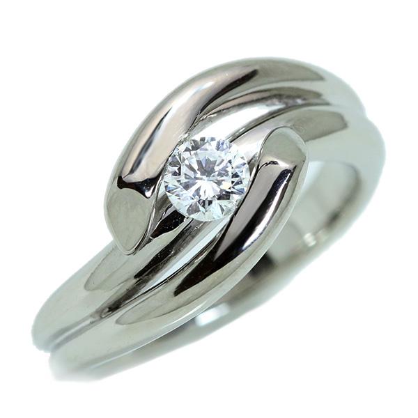 【10%OFFクーポン対象&P2倍】ダイヤモンド リング/指輪 0.320カラット プラチナ900 PT900 肉厚 一粒 ソリティア ボリューム /白・透明(ホワイト)/アウトレット・新品/届10/1点もの