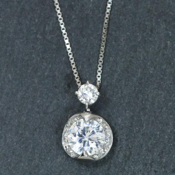 【P2倍】ダイヤモンド(空枠) 0.2~0.5(±0.05ct可)ct用 ペンダントトップ枠 K18 PG WG 18金 PT900 カラット数以上の大きさを感じる プチ /白・透明(ホワイト)/リフォーム/1年保証/ラックジュエル luckjewel/
