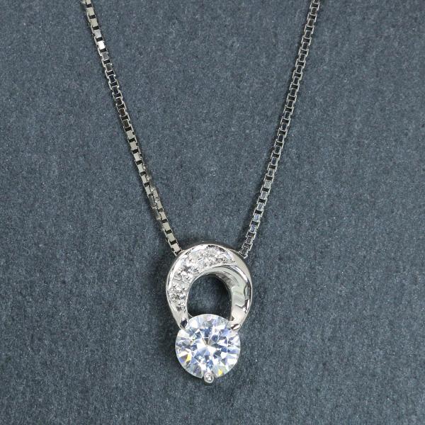 ダイヤモンド(空枠) 0.2、0.3(±0.05ct可)ct用 ペンダントトップ枠 K18 PG WG 18金(※プラチナPT追加料金で対応可) おしゃれなプチ /白・透明(ホワイト)/リフォーム/1年保証/