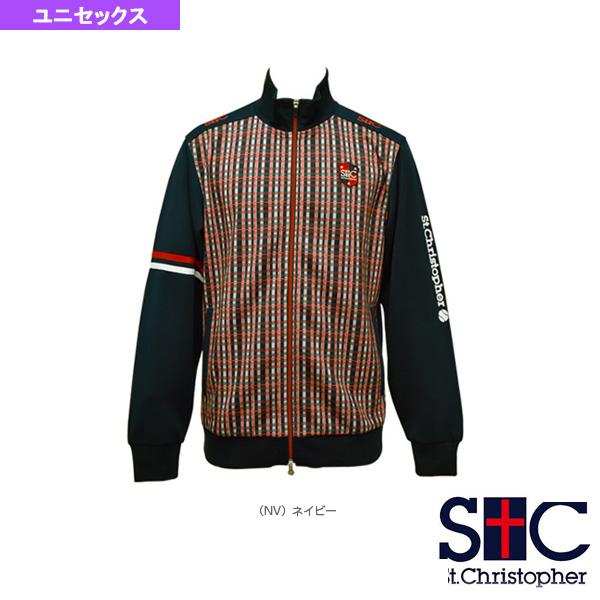 ジャージジャケット/ユニセックス(STC-AFM5019)《セントクリストファー テニス・バドミントン ウェア(メンズ/ユニ)》