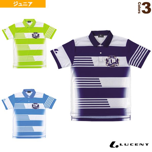 ゲームシャツ/ジュニア(XLP-830)《ルーセント テニス ジュニアグッズ》