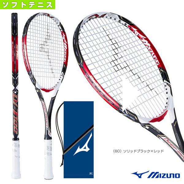 DI-T100/ディーアイ T-100(63JTN743)《ミズノ ソフトテニス ラケット》軟式ラケット軟式テニスラケットコントロール