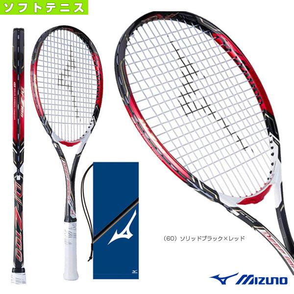 DI-Z100/ディーアイ Z-100(63JTN744)《ミズノ ソフトテニス ラケット》(後衛向け)