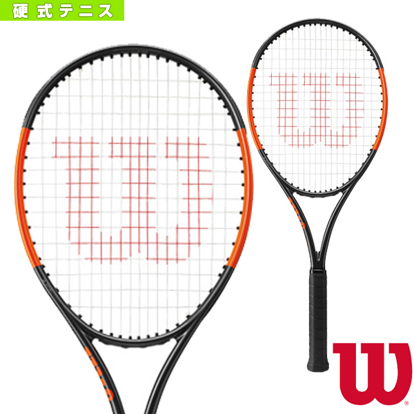 BURN 100S COUNTERVAIL/バーン 100S カウンターヴェイル(WRT734210)《ウィルソン テニス ラケット》硬式テニスラケット硬式ラケット