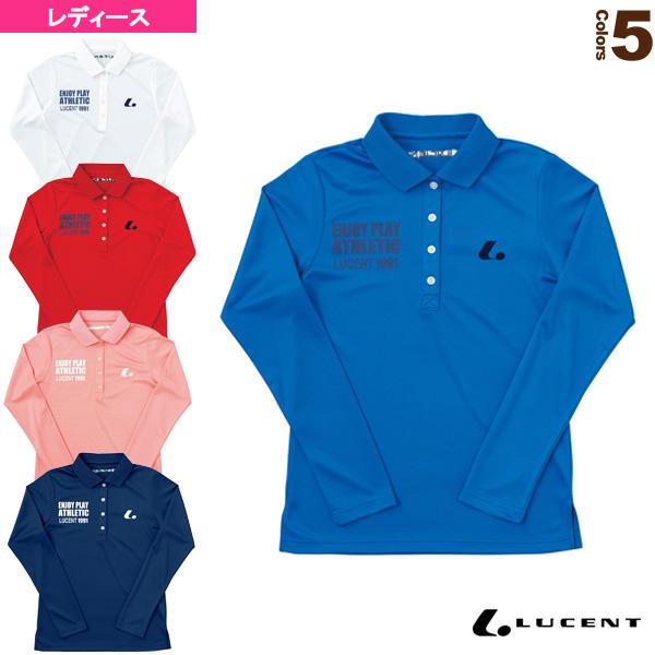 Ladies 長袖ポロシャツ/レディース(XLP-492)《ルーセント テニス・バドミントン ウェア(レディース)》