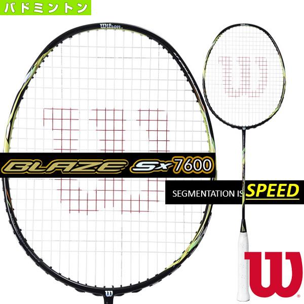 ブレイズ SX 7600/BLAZE SX 7600(WRT8715202)《ウィルソン バドミントン ラケット》