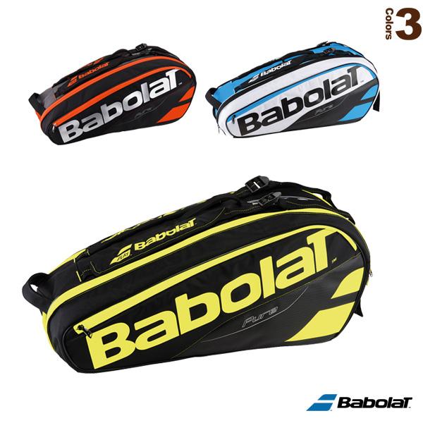 [バボラ テニス バッグ]PURE LINE/RACKET HOLDER×6/ラケットバッグ/ピュアライン/ラケット6本収納可(BB751135)