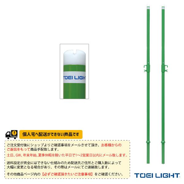 [送料別途]バドミントン支柱TJ34/2本1組(B-3387)《TOEI(トーエイ) バドミントン コート用品》